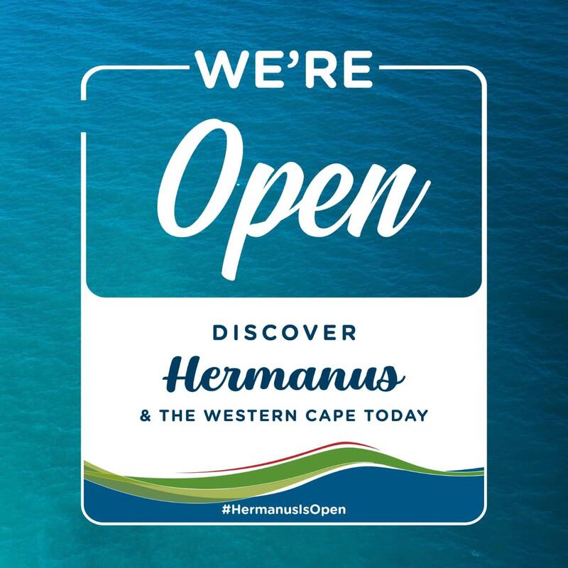 Hermanus Is Open - come and explore - near Cape Town, South Africa